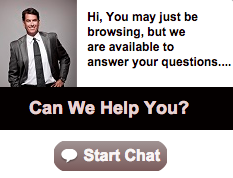 A highly customized live chat invitation.