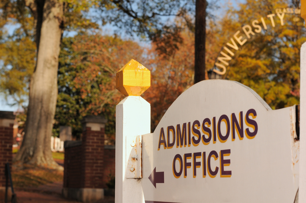 For college admissions, chat can be a helpful lead capture tool.