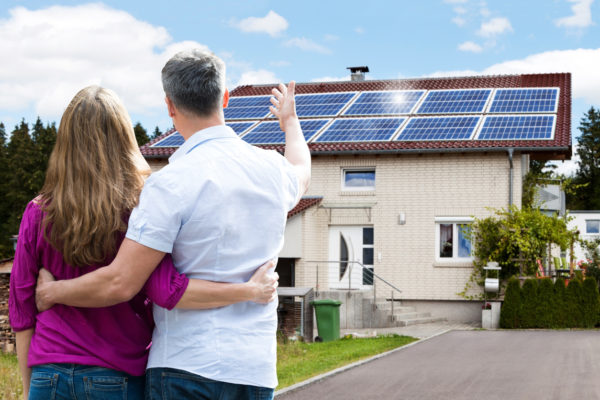 Happy customers make for great solar marketing content.